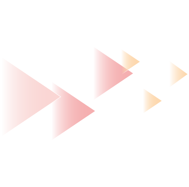 Red and yellow triangles show effect