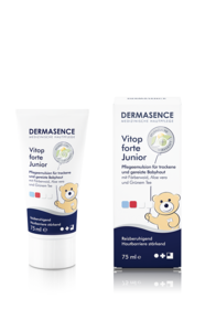[Translate to Englisch:] Produktbild DERMASENCE Vitop forte Junior